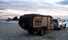 home built camping trailers | des croquis , de l alu et c est parti pour petit challenge sympa .