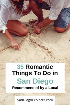Here are 35 of the most romantic things to do in San Diego that will make your partner's heart swell. From budget friendly to extraordinary, from adventurous to spectacular, these San Diego Date Ideas are something for every couple. Usa Travel Guide, Travel Usa, Travel Expert, Travel Guides, Travel Tips, Romantic Things To Do, Most Romantic, Fun Things, Hotel Del Coronado