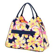 Beach Floral Beach Bag