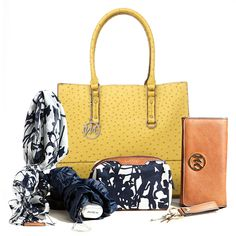 a448f59c2290  Emilie M Handbags is giving away this Kimberley Ostrich Tote plus 5 piece  Essentials box