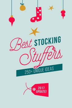 Don't settle for the same stuffers everyone else is getting this Christmas. Fill that special stocking with cool, unique little gifts that will guarantee smiles!