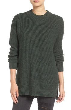 BP. Ribbed Mock Neck Pullover available at #Nordstrom