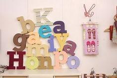 Letras decorativas. Tutorial.