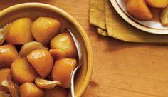 Patates jaunes au miel Roasted Yellow Potatoes, Ricardo Recipe, Riced Veggies, Gluten Free Chicken, Vegetable Recipes, Side Dishes, Honey, Tasty, Dinner