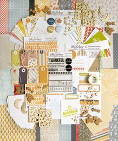 Simon Says Stamp|Kelly Purkey October/November 2013 Project Kit.