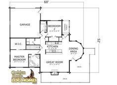 Golden Eagle Log and Timber Homes : Plans & Pricing : Plan Details : North Carolina Log Cabin House Plans, Log Home Floor Plans, Log Cabin Homes, Log Cabins, Timber Homes, Golden Eagle, North Carolina, Flooring, How To Plan
