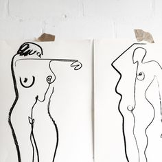 """343 Likes, 4 Comments - Alexa Coe (@alexa_coe) on Instagram: """"Something a little more abstract 〰〰〰〰〰〰〰〰〰〰#nudes #femaleform #illustration"""""""