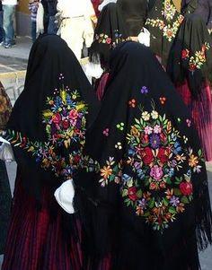 Traditional Sardinia Costume. the western Mediterranean island, Italy,