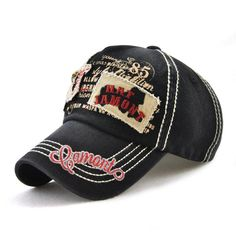 33adc53d0d6e8 Mens Patch Embroidered Metal Skull Sunshade Snapback Hats Baseball Cap