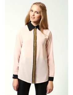 Zega Store - Camasa Carolina, culoarea roz - Femei, Camasi
