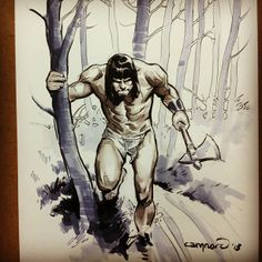 Conan. By Cary Nord