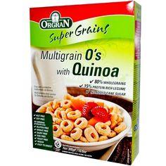 Orgran, MultiGrain O's, with Quinoa, 300 g
