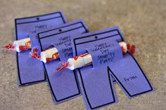 Printable Smarty Pants template for kids Valentine cards