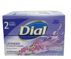 Dial Antibacterial Deodorant Soap Lavender and Twilight Jasmine 3.2-ounce Bars--2 count Dial http://www.amazon.com/dp/B016XETQII/ref=cm_sw_r_pi_dp_pVBQwb0TF35N1