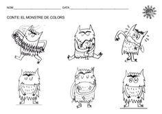 Resultado de imagen para personajes del cuento el monstruo de los colores