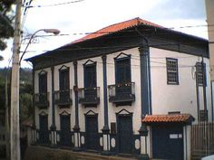 Itabira, MG - Brasil Casa onde nasceu o poeta Carlos Drummond de Andrade