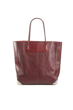 Alexander Wang Liner Lizard Embossed Leather Tote