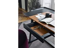 Recipio '14 Writing Desk by Antonio Citterio for Maxalto