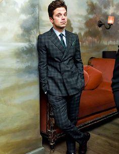 Sebastian Stan for Esquire's Style Mavericks of the Year (November 30th)
