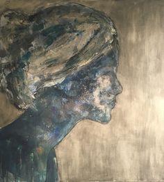""" Inner Beauty"" (21) # portrait # figurative art # woman # contemporary art # kunst # dame"