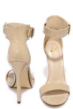 Image result for dark beige heels
