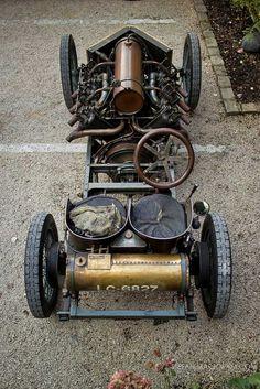 1905 Darracq 200 HP Land Speed Record Car