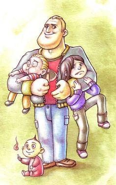 The Incredibles by Gigei.deviantart.com on @deviantART