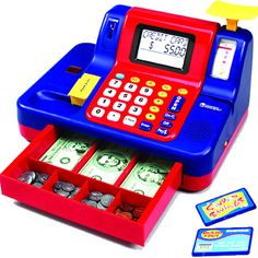 Teaching Cash Register by Learning Resources / Educational Insights - $49.95 J's 4 yr old b-day