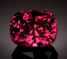 FINE GEMSTONE: UNTREATED VIVID BURGUNDY SPINEL - 11.94 CT