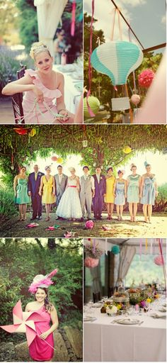 love these wedding colours
