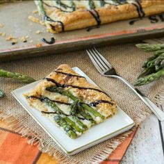 Perfect for spring, this asparagus gruyere tart is a show-stopping addition to any brunch or appetizer table. Super easy to make!
