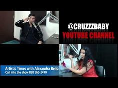 Artistic Times with Alexandra Bellos special guest Cruzzbaby