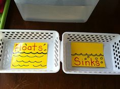Floats or sinks? Bravery and I were talking about doing this the other day we MUST try it!