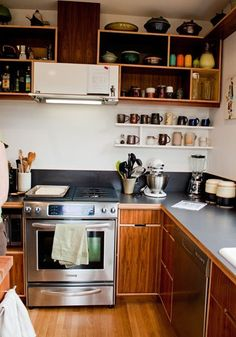 Get the Look: A Warm and Woody Kitchen — Style & Renovation Resources