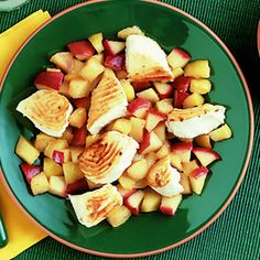 This recipe for Grilled Halibut With Apples is sure to please you and your kids!