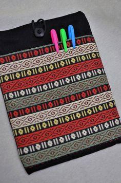 IPad 2.3.4.Galaxy Tablet. Sleeve Cotton Multicolor by FlaffyDreams, $17.90