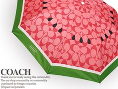 Coach watermelon umbrella, LOVE IT! WANT!