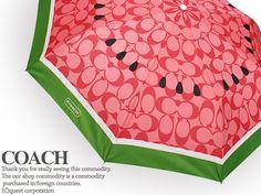 Coach watermelon umbrella, LOVE IT! WANT!