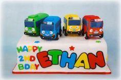 tayo bus birthday cake