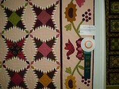 GCQC quilt show-Pine Burr by ann_champion, via Flickr