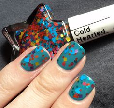 Catrice No Snow Petrol with JENsations Cold Hearted