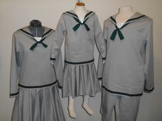 READY TO SHIP Uniforms For the VonTrapp Children from the Sound of Music