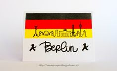 Card. Cardmaking. Tarjeta. Tarjeteria. Lora Bailora. Berlin.