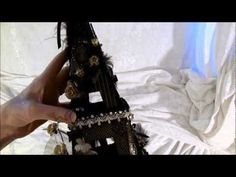 Graphic 45 Curtain Call eiffel tower with 2 mini albums inside - YouTube