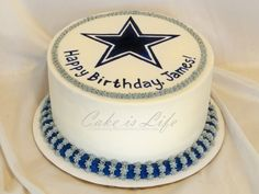 dallas cowboys cakes pictures | Cowboys Birthday Cake