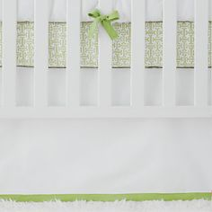 Crib Skirt - #projectnursery #franklinandben #nursery