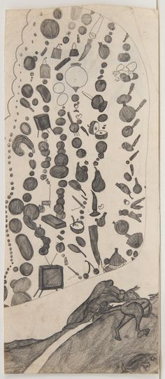Explosive Drawing: Susan Te Kahurangi King's Mash-ups, Strange Landscapes, and Other Worlds