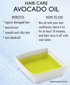 Hair Care hair-oil-avocado