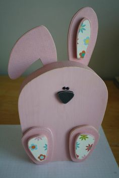 Wonderful Easter decorations made of wood | My desired home