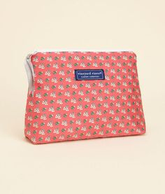 Sorority Collection: Delta Zeta Makeup Bag for Women - Vineyard Vines